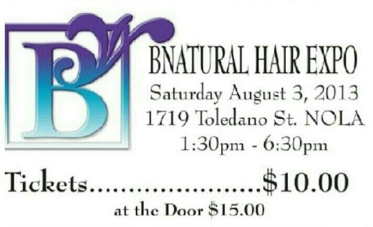 BNatural Hair Expo Banner